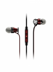 MOMENTUM In-Ear Black Red i